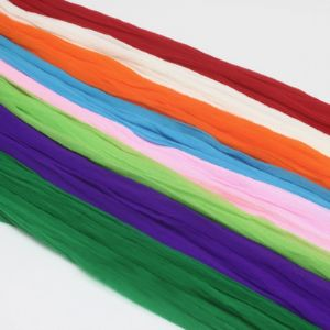 Single colour Specially dyed nylon, Nylon, Burgandy, white, Stretched size 1.5m x 15cm, 8 pieces, [SWW0528]